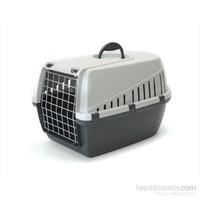 Savic Trotter 2 Kedi Köpek Taşıma Kabı Açık Gri/Koyu Gri