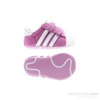 Adidas D67796 Superstar 2 Crib Bebek Patik