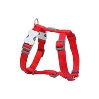 Reddingo Klasik Kırmızı Köpek Göğüs Tasması 12 Mm