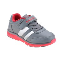 Kinetix 1254103 Koyu Gri Kırmızı Beyaz Erkek Çocuk Koşu Ayakkabısı