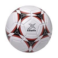 Kinetix A5224149 Beyaz Siyah Kırmızı Unisex Futbol Topu