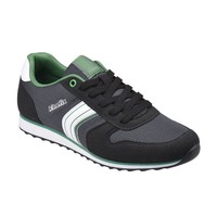 Kinetix 1287522 Siyah Koyu Gri Yeşil Erkek Sneaker