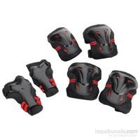 Hattrick Ps 20 Koruyucu Set Siyah/Kırmızı