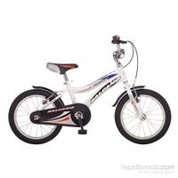 Salcano Fantom 16 Beyaz/Mavi-Kırmızı Çocuk Bisikleti