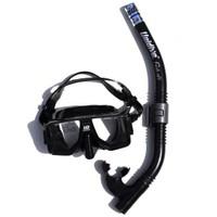 Unidive Silikon Maske/Şnorkel Set combo-2 Siyah