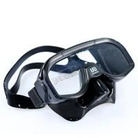 Unidive Maske Silikon Tek Camlı