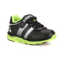 Kinetix 1254106 Siyah Yeşil Beyaz Erkek Çocuk Koşu Ayakkabısı