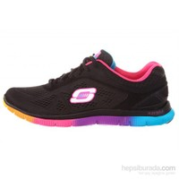 Skechers 11880-Bkmt Flex Appeal Style icon Kadın Ayakkabı