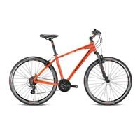 """Kron Tx 300 28 Jant City 18"""" 24 Vites V-Fren Kizil - Siyah Şehir Bisikleti"""