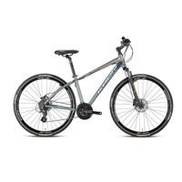 "Kron Tx 300 28 Jant City 18"" 24 Vites Fren Füme Gri - Turuncu Şehir Bisikleti"