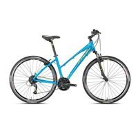 """Kron Tx 450 Lady 28 Jant City 17"""" 27 Vites V-Fren Mavi - Lime Şehir Bisikleti"""