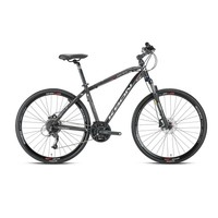 "Kron Tx 500 28 Jant City 18"" 27 Vites Fren Siyah - Gri - Beyaz Şehir Bisikleti"