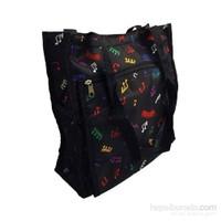 Renkli Notalı Çanta