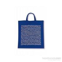 Notalı Çanta Mavi