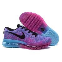 Nike Flyknit Air Max 620659-502 Bayan Yürüyüş Ve Koşu Ayakkabısı
