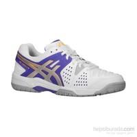 Asics Gel Dedicate 4W Lavender/Silver Kadın Tenis Ayakkabısı