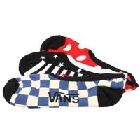 Vans V1frcu0 Checks &Amp; Spots Ca Krem Kadın Çorap