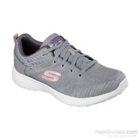 Skechers 12433 Gry Burst Koşu Ve Yürüyüş Spor Ayakkabı