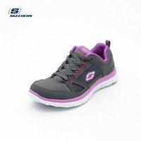 Skechers 11727 Ccpr Flex Appeal - Spring Fever Charcoal Purple