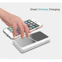İphone 6/6S Plus Wireless Şarj Kılıfı Ve 8000Mah Portatif Şarj Kiti