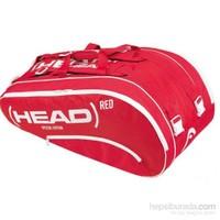 Head 283723-Red Monstercombi Raket Çantası + 3 Head Top Hediye