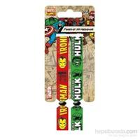Festival Bilekliği - Marvel Retro Iron Man & Hulk Fwr68021