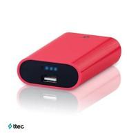 Ttec EasyCharge Smart Taşınabilir Şarj Cihazı 5600 mAh Pembe