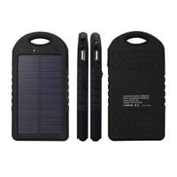 Case 4U Solar Taşınabilir Şarj Cihazı 5000 mAh Siyah - ES500*