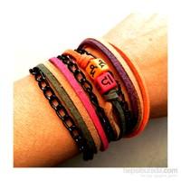 Betico Fashion Renkli Burç Bilekliği