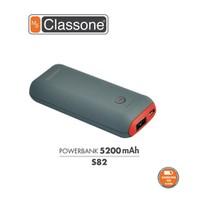 Classone 5200 mAh Taşınabilir Şarj Cihazı S82 - Kırmızı