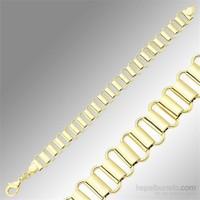 Sheamor Merdiven Temalı Altın Kaplama Bileklik