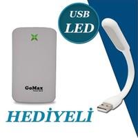 Gomax Powerbank 10000 Mah Taşınabilir Şarj Cihazı Beyaz