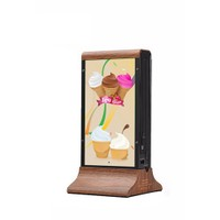 Codegen 20800mAh Restaurant Menü Powerbank Maun K1-Wood