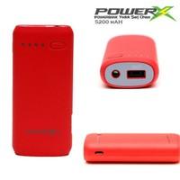 Codegen Powerx 5200 mAh Led Işıklı Kırmızı Taşınabilir Şarj Cihazı Powerbank X40-R