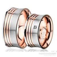 Berk Kuyumculuk Çelik Alyans LM-015R (Çift Fiyatı)