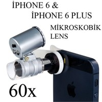 Markacase İphone 6 Ve 6 Plus 60X Mikroskobik Büyüteç Lens