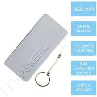 Mobile World Ora Series 5600 mAh Taşınabilir Şarj Cihazı Beyaz - 2122
