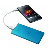 Sony FLAT Taşınabilir Şarj Cihazı 5000 mAh Mavi CP-F5L