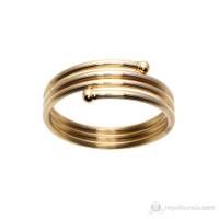 Lochers Altın Kaplama Çelik Esnek Bileklik