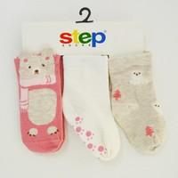 Step 1827 3lü Soket Çorap