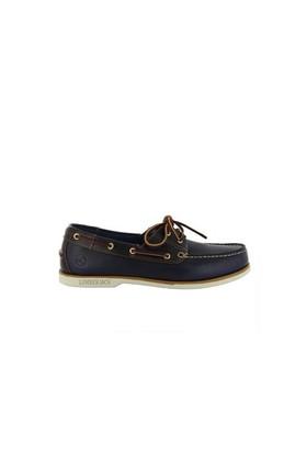 Lumberjack 1406 03 B03C Navy Blue Dark Brown Erkek Klasik Ayakkabı