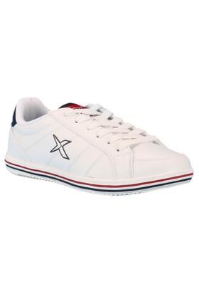 Kinetix 1211321 Beyaz Lacivert Kırmızı Erkek Çocuk Sneaker
