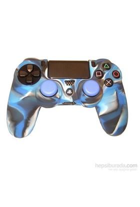 Kontorland Gamepad Silikon Kılıf PS4 (Mavi)