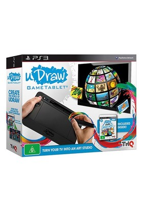 Thq Ps3 Udraw Game Tablet + Udraw Studio Oyun