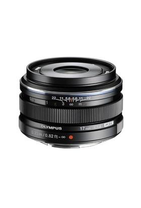 Olympus M.Zuiko Dijital 17mm 1:1.8 / EW-M1718 Siyah