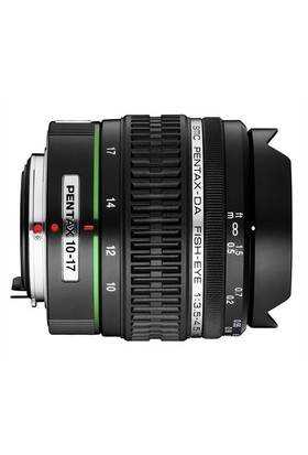 Pentax 10-17mm Fisheye f/3.5-4.5 ED (IF) Objektif