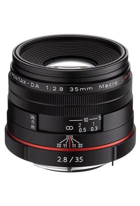 Pentax 35mm Macro f/2.8 Limited Objektif Siyah