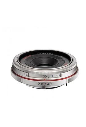 Pentax 40mm f/2.8 Limited Objektif Gümüş