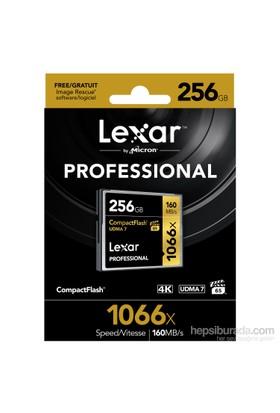 Lexar 256Gb 1066X Professional Cf - 160 Mb/Sn. Compackt Flash Hafıza Kartı