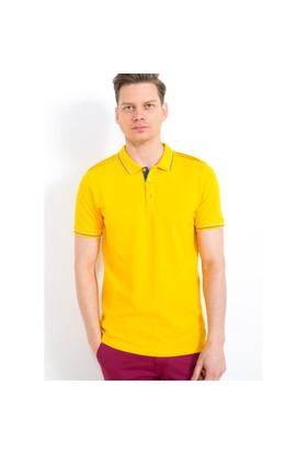 Adze Sarı Erkek Polo Yaka T-Shirt